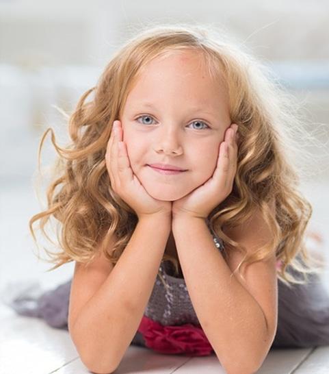 Photo d'un enfant qui sourit