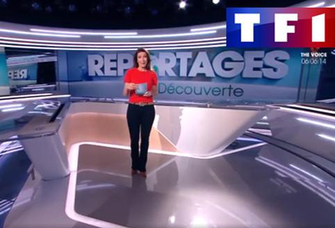Photo du plateau de TF1 Reportages découverte