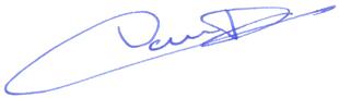 Signature de dominique Vautrin